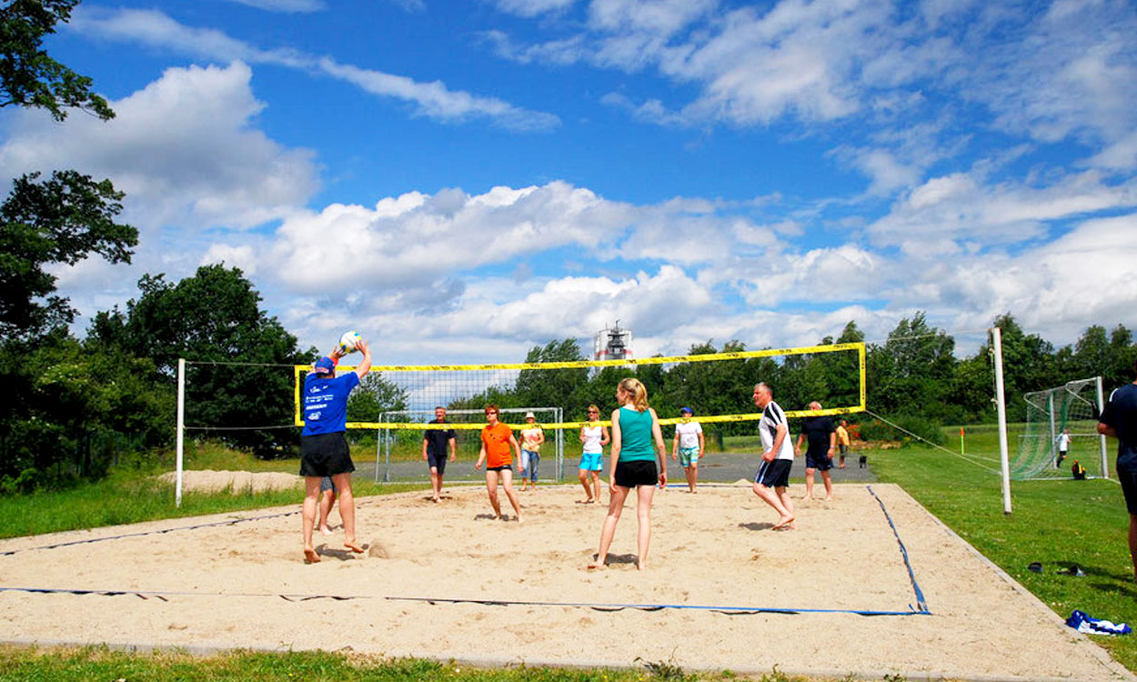 Beachvolleyball in Wachau
